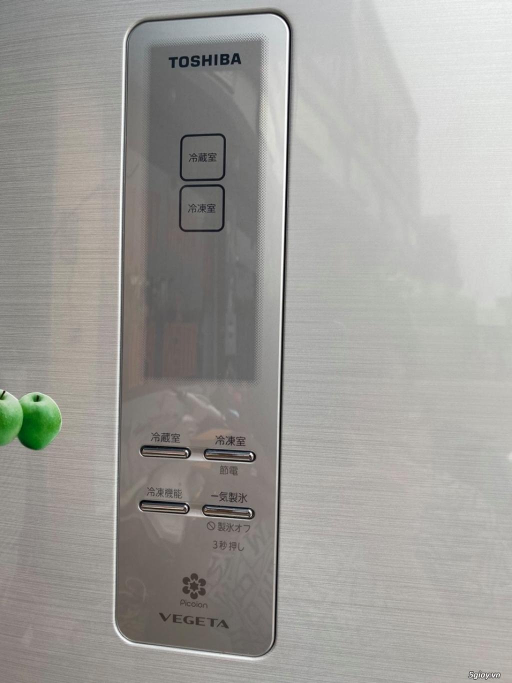 Tủ lạnh 6 cánh nội địa Nhật TOSHIBA GR-E47F date 2012 - 19