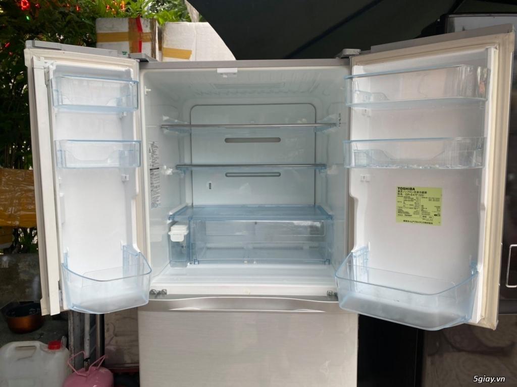 Tủ lạnh 6 cánh nội địa Nhật TOSHIBA GR-E47F date 2012 - 14