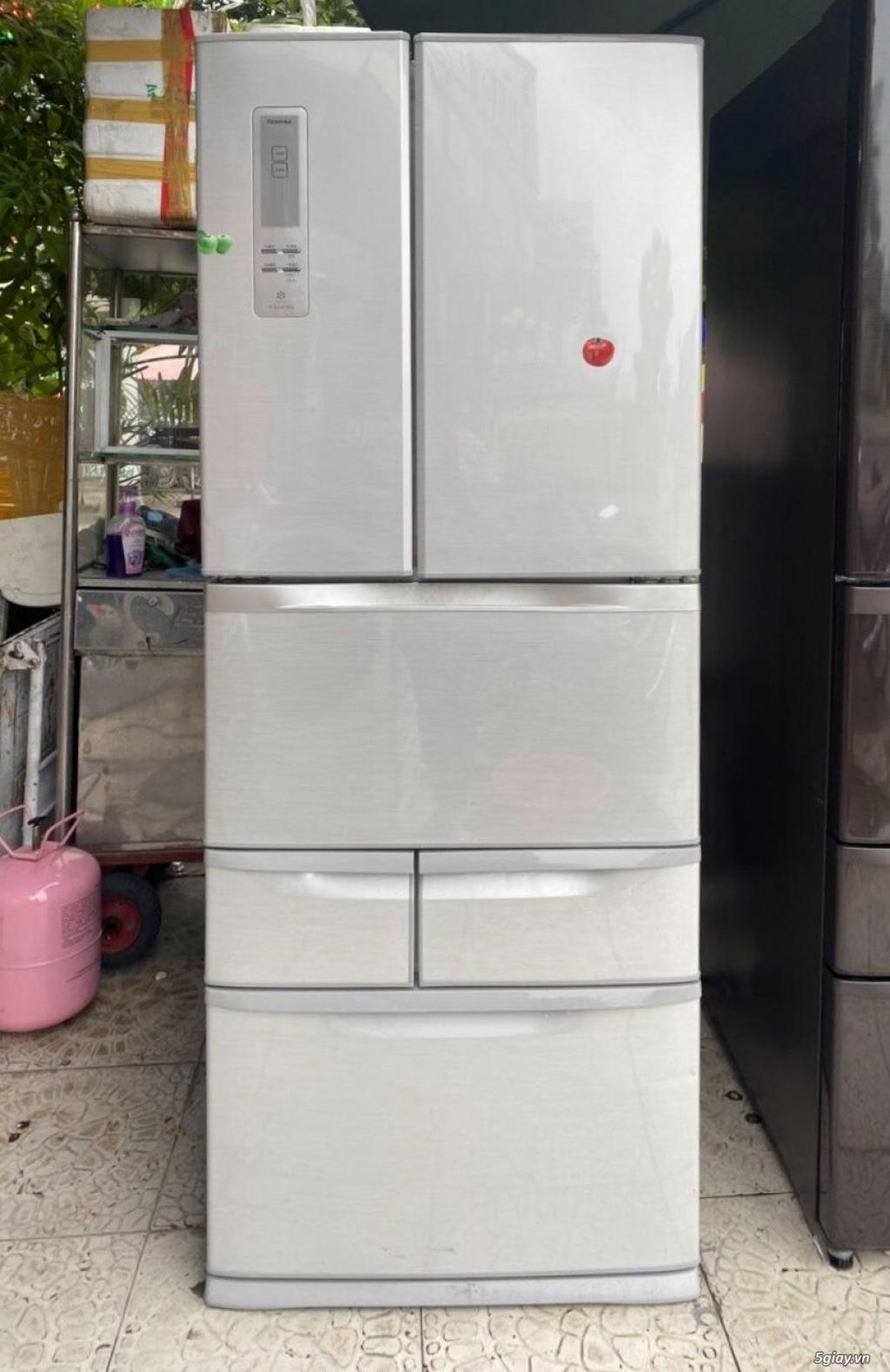 Tủ lạnh 6 cánh nội địa Nhật TOSHIBA GR-E47F date 2012 - 11