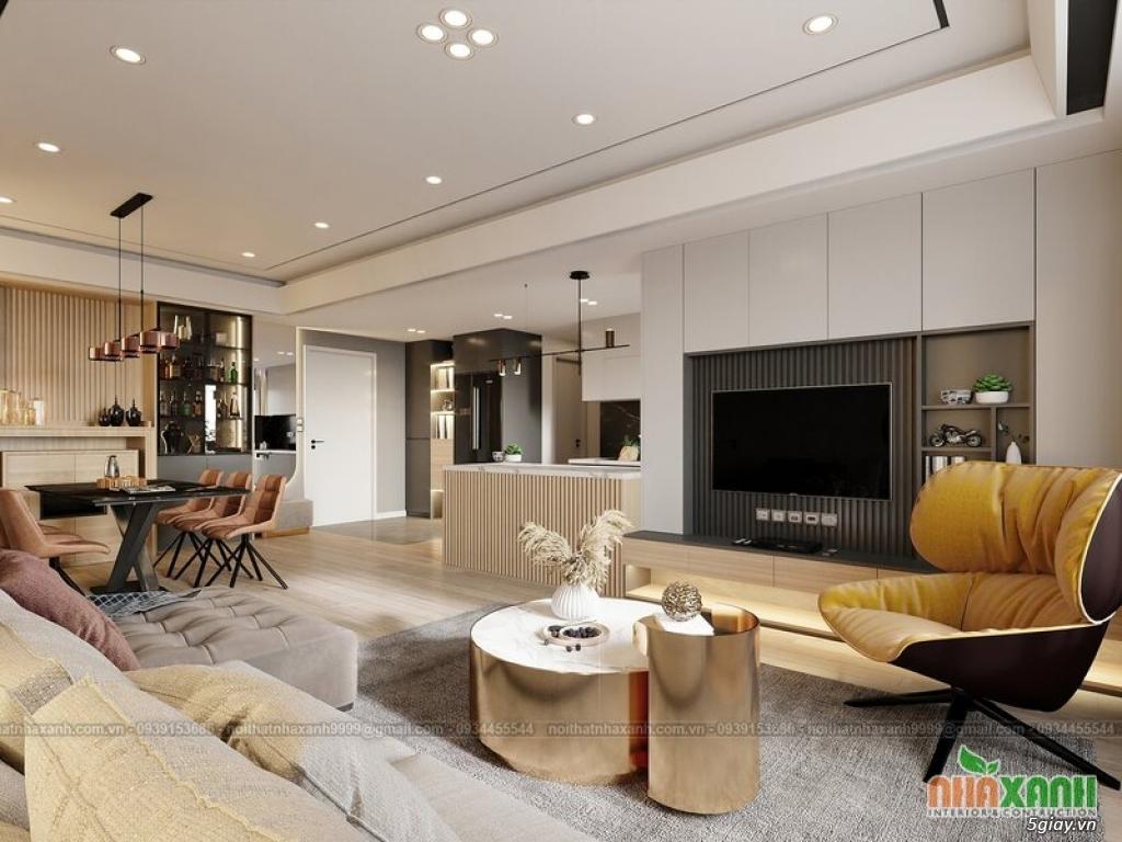 Những yếu tố cần lưu ý khi thi công thiết kế nội thất căn hộ
