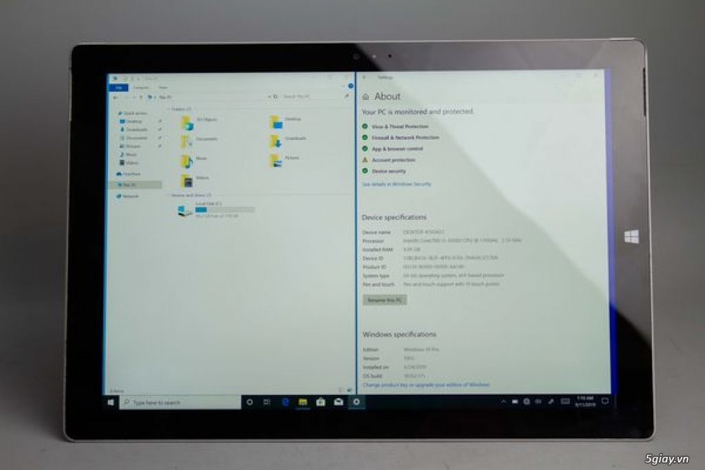 Surface Pro 3   SSD 128GB   core i5   RAM 4GB   98% - IMI17823 - 3