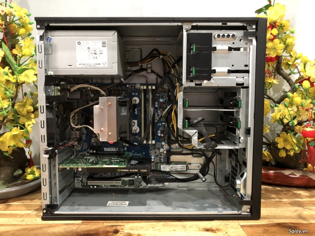 Máy bộ HP Workstion Z240 chuyên đồ họa GAME, đẹp như mới - 4