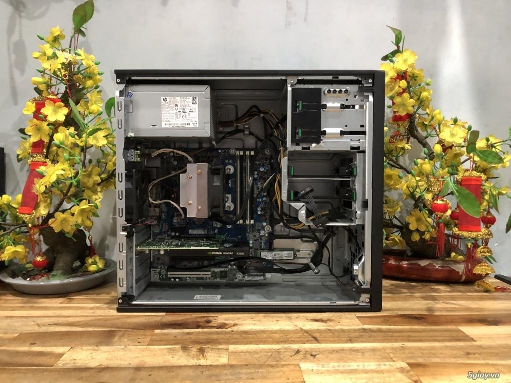 Máy bộ HP Workstion Z240 chuyên đồ họa GAME, đẹp như mới - 3