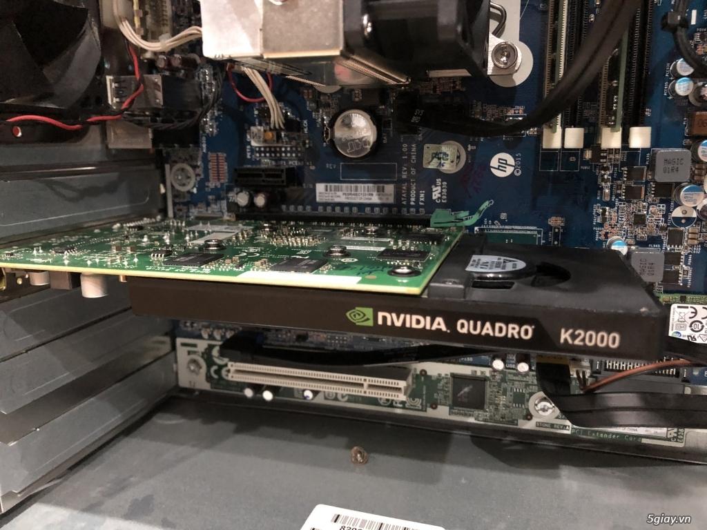 Máy bộ HP Workstion Z240 chuyên đồ họa GAME, đẹp như mới - 5