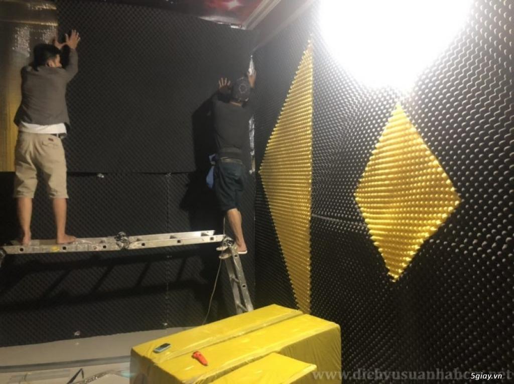 Thiết kế quán karaoke với phương pháp thi công cách âm tiêu âm