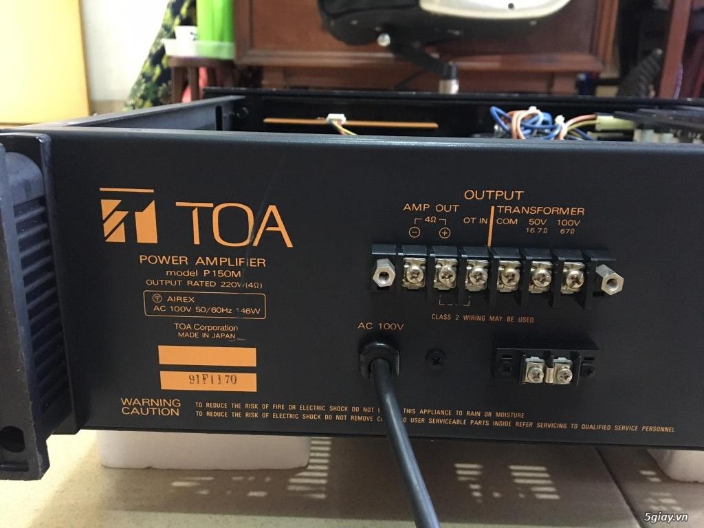 Power Yamaha 2 kênh-4 kênh-monoblock - 17