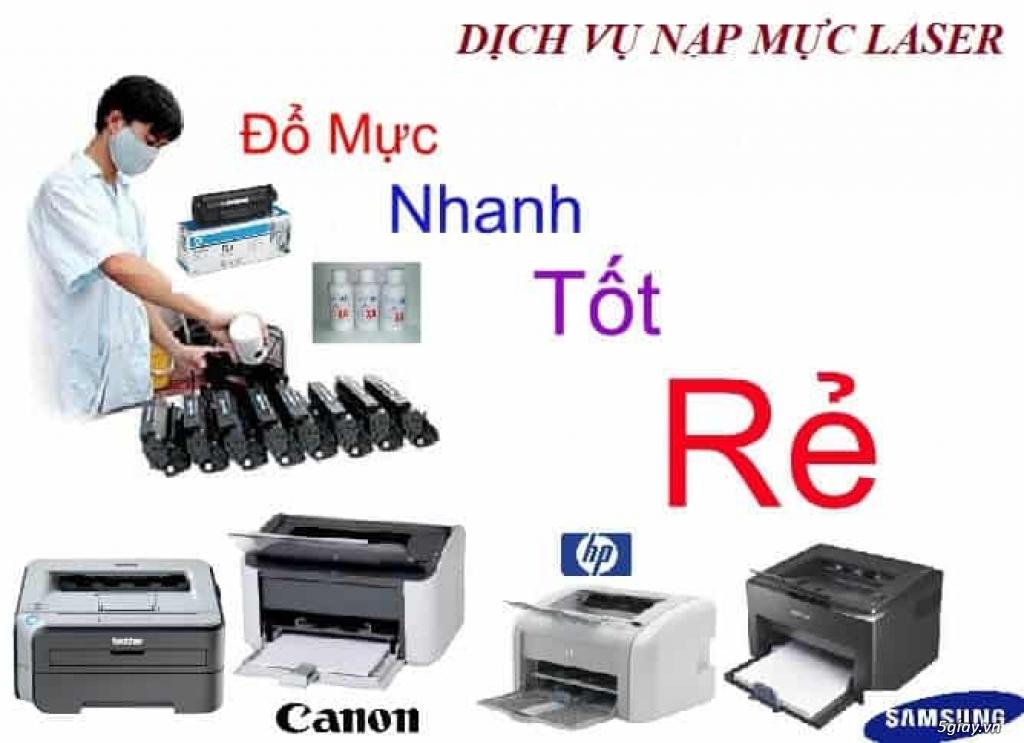 Dịch vụ nạp mực min,sửa máy in tận nơi quận Tân Phú giá rẻ
