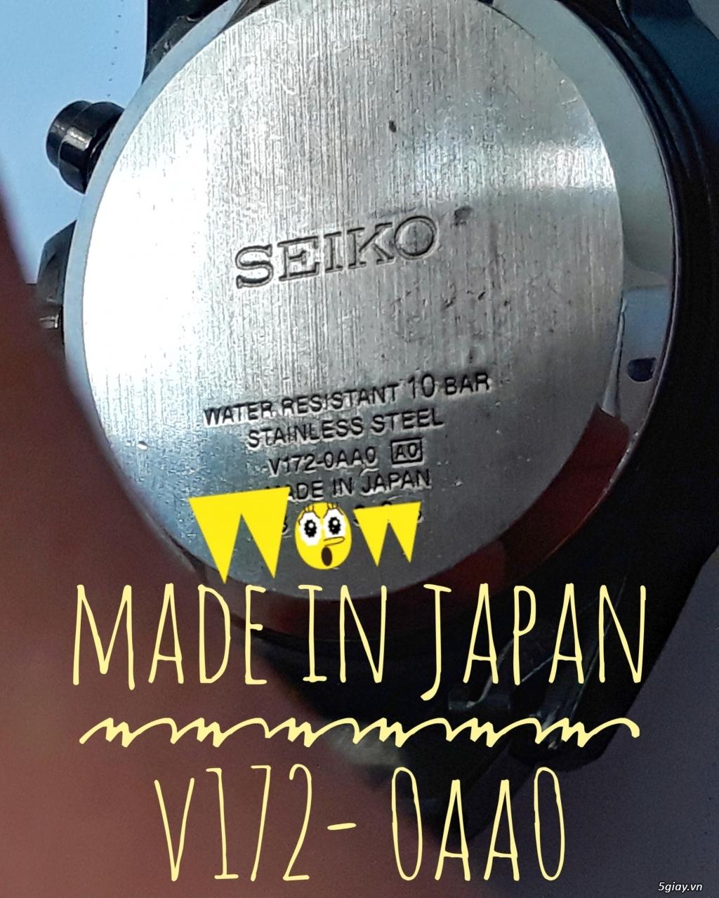 Đồng Hồ SEIKO Made In Japan - 2