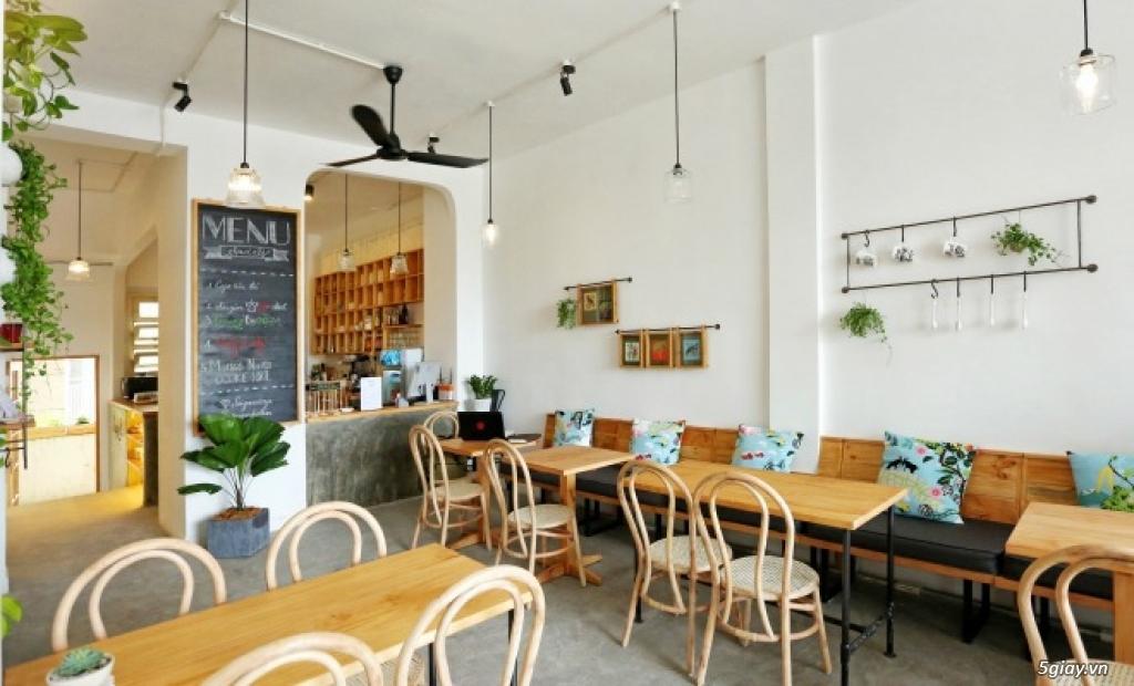 Tìm hiểu về phong cách thiết kế quán cafe kết hợp studio
