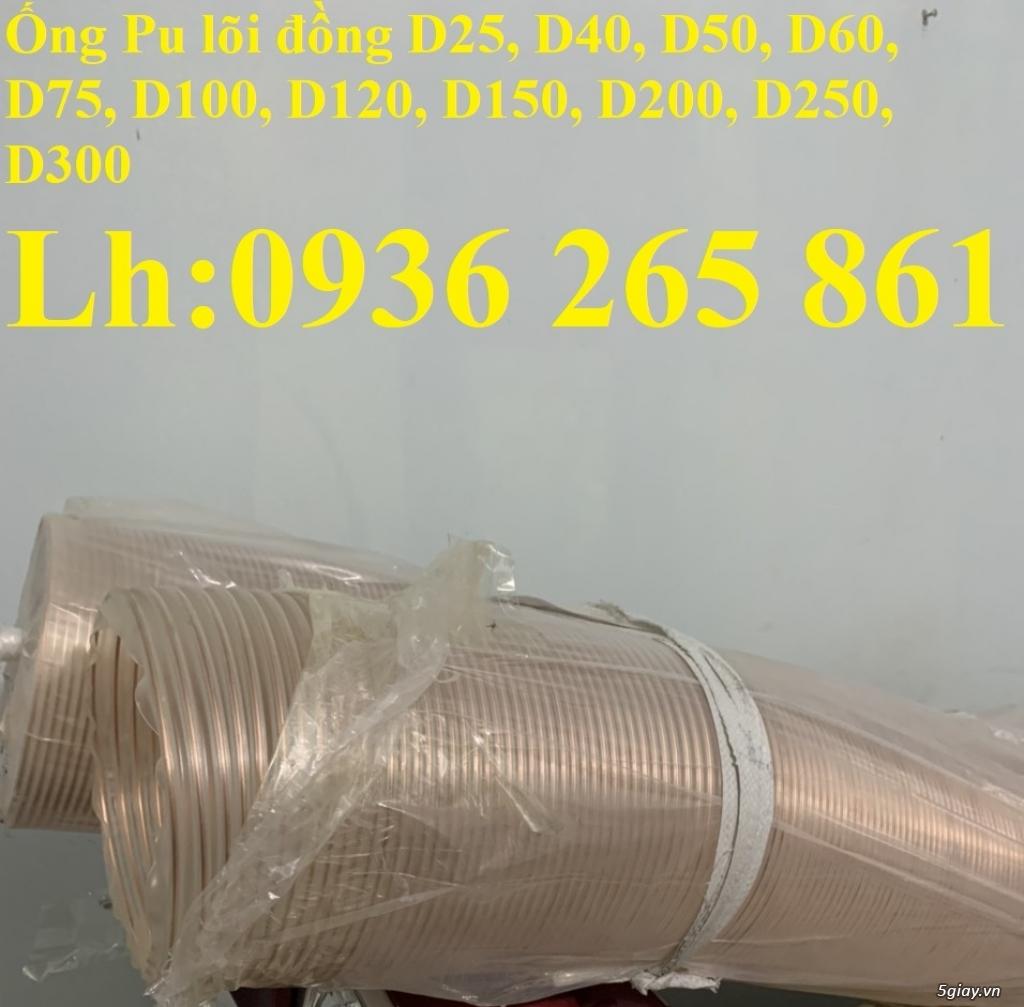Báo giá ống pu lõi kẽm mạ đồng D75 uy tín chất lượng