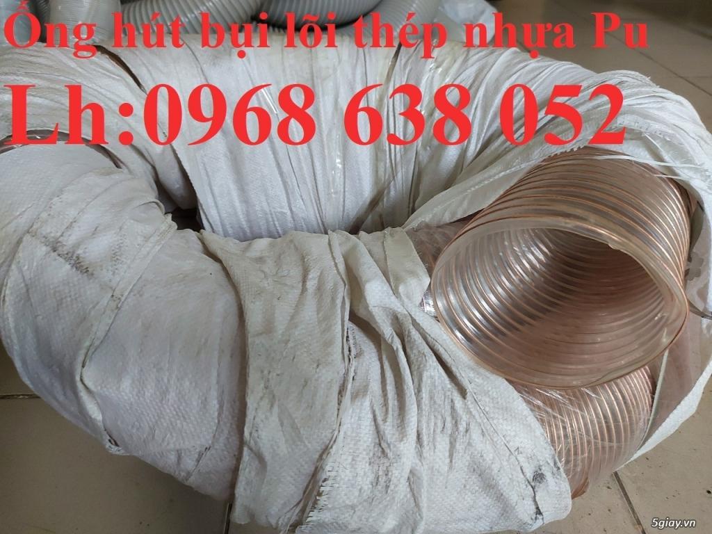 Giá ống Pu mềm lò xo lõi đồng phi120 lắp quạt hút bụi - 3