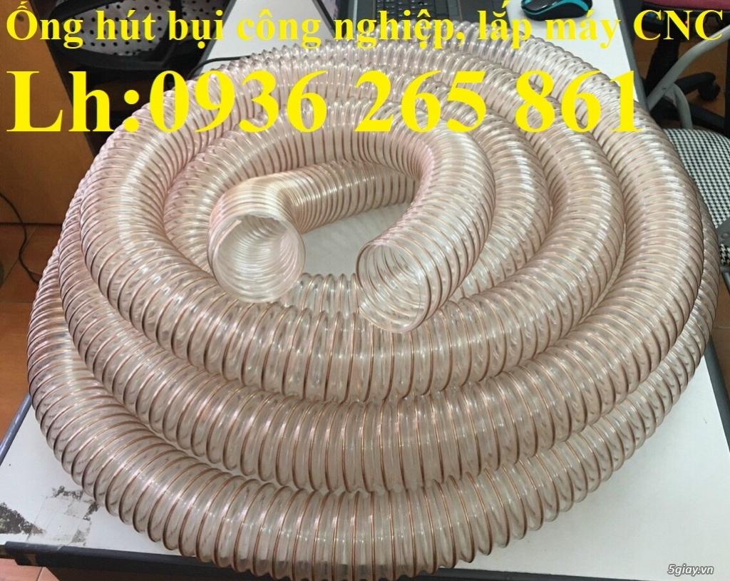 Giá ống Pu mềm lò xo lõi đồng phi120 lắp quạt hút bụi - 4