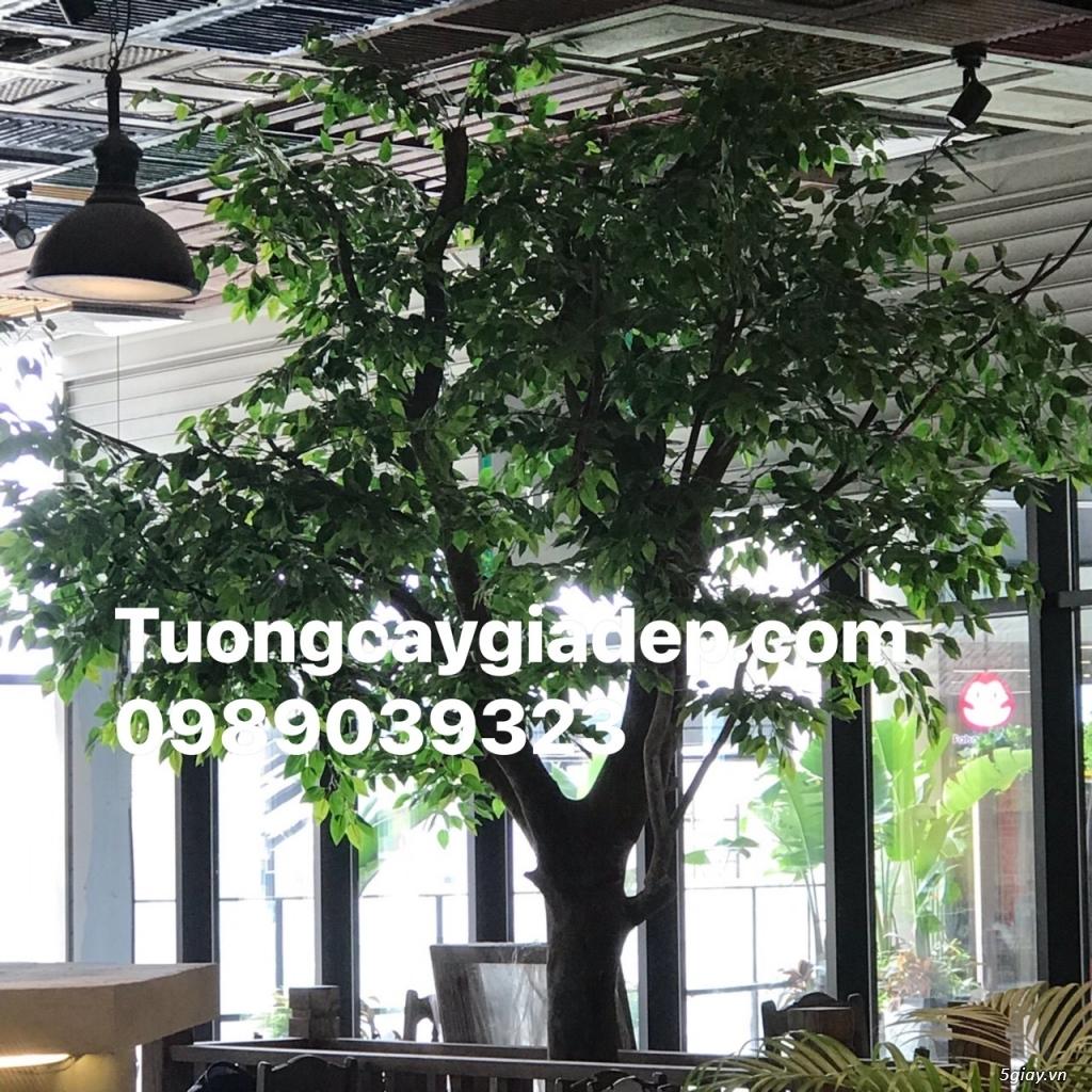 cây lá xanh giả giá rẻ tại tp HCM đẹp như thật - 1