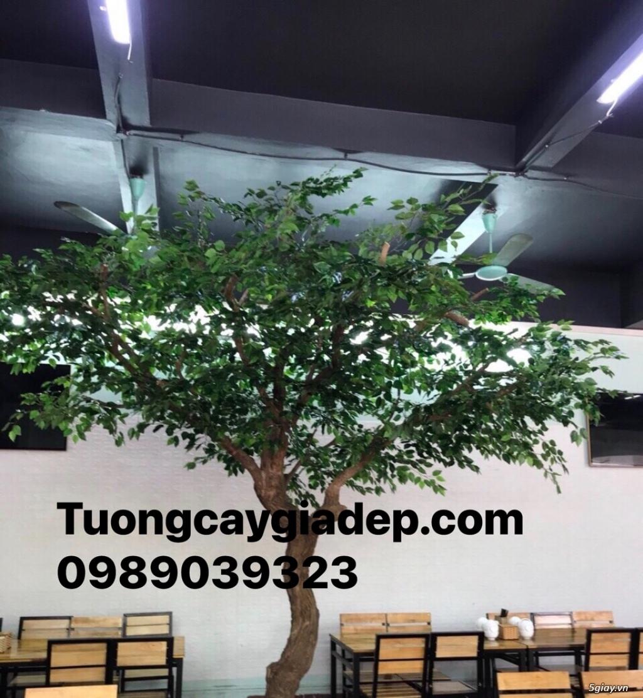 cây lá xanh giả giá rẻ tại tp HCM đẹp như thật - 2