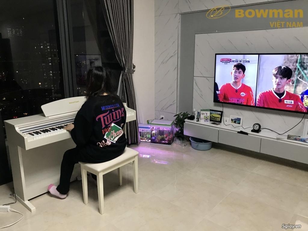 Lắp đặt Bowman PIANO CX-250 màu trắng cho khách hàng người Hàn Quốc