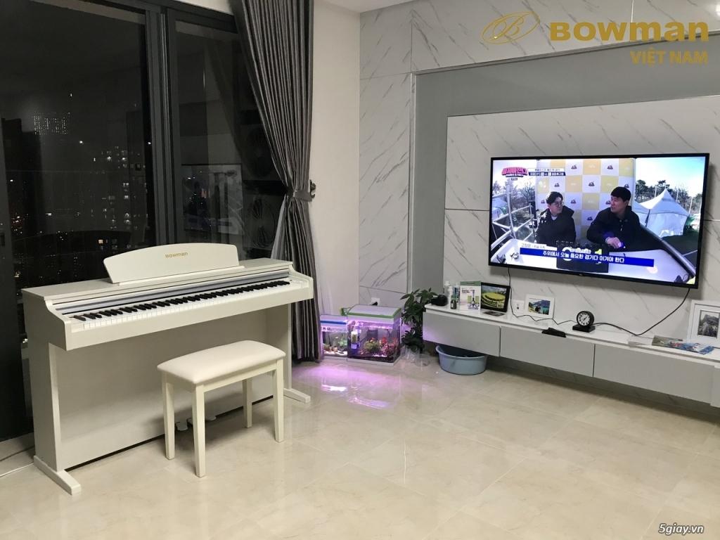 Lắp đặt Bowman PIANO CX-250 màu trắng cho khách hàng người Hàn Quốc - 2