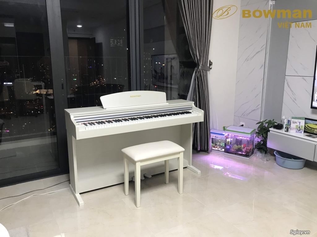 Lắp đặt Bowman PIANO CX-250 màu trắng cho khách hàng người Hàn Quốc - 1