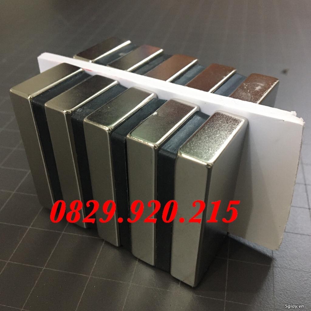 10 viên nam châm chữ nhật F50x25x10mm siêu hút