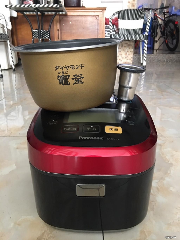 Nồi cơm điện panasonic cốc nước bù ẩm có áp suất - 1