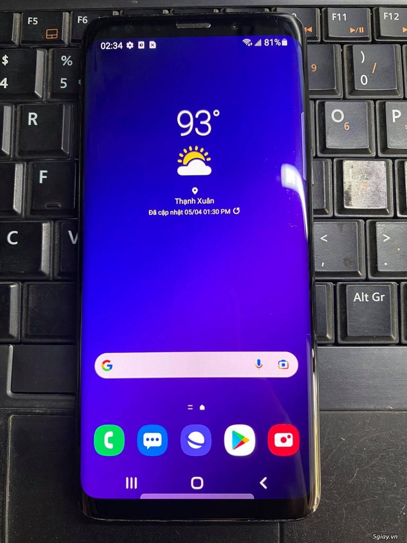 Samsung Galaxy S9 zin all bảo hành 12 tháng