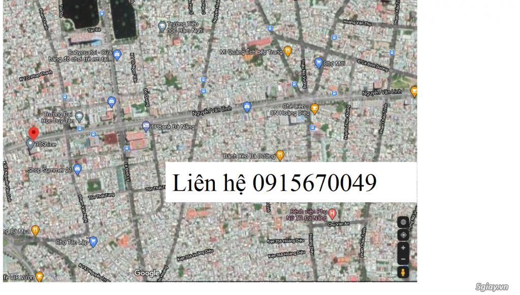 Chính chủ bán đất mặt tiền Nguyễn Văn Linh 100m2 ngang 5 giá 27 tỷ