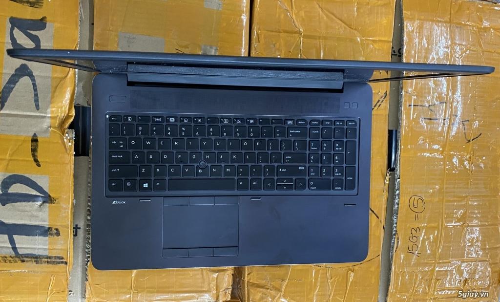 Bán SL HP Zbook 15 G2, G3. i7, VGA K2100, M1000M, M2000. Giá: TỐT - 5