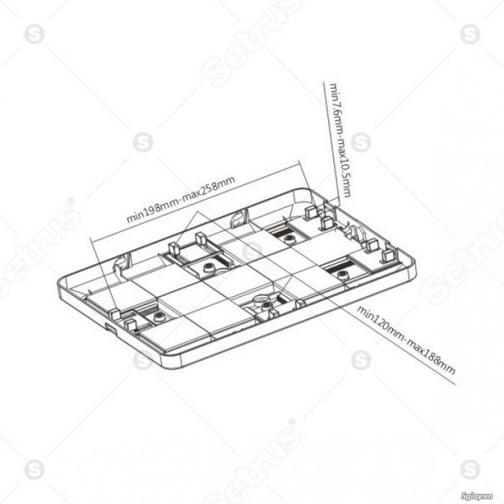 Giá đỡ chống trộm cho máy tính bảng 9.7 - 10.1 SALE MẠNH LỄ 30/4 - 1