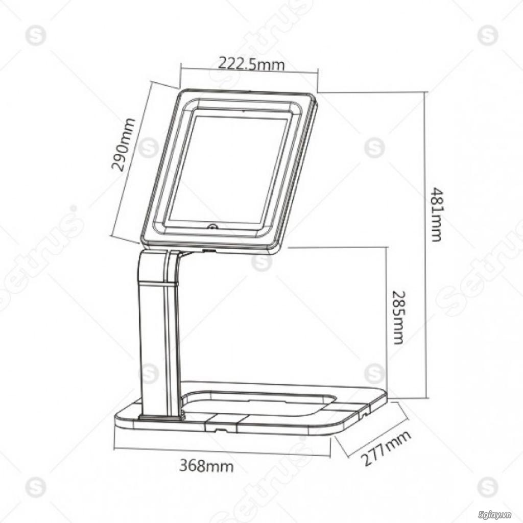 Giá đỡ chống trộm cho máy tính bảng 9.7 - 10.1 SALE MẠNH LỄ 30/4 - 2