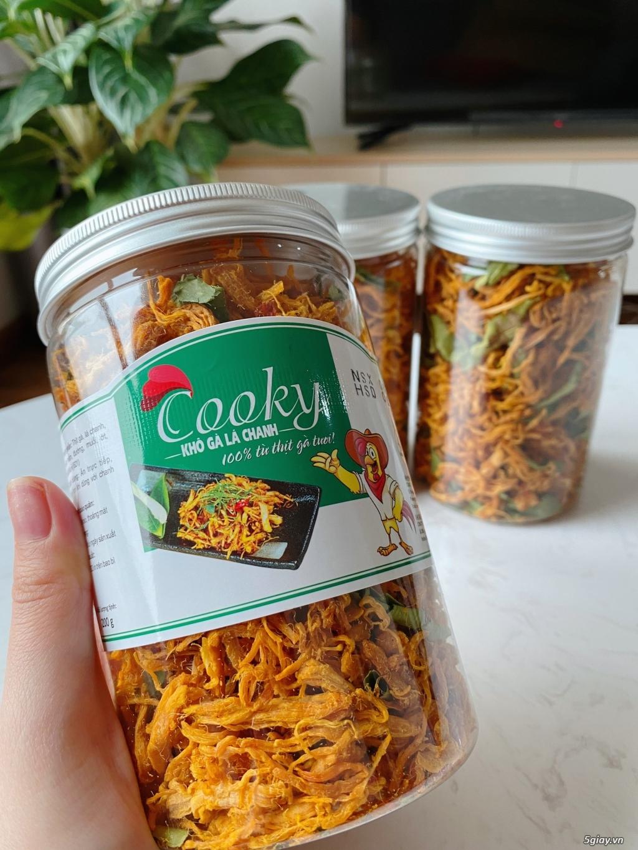 Khô gà lá chanh Cooky - Hà Nội Dry Foods  Hàng đầu về chất lượng