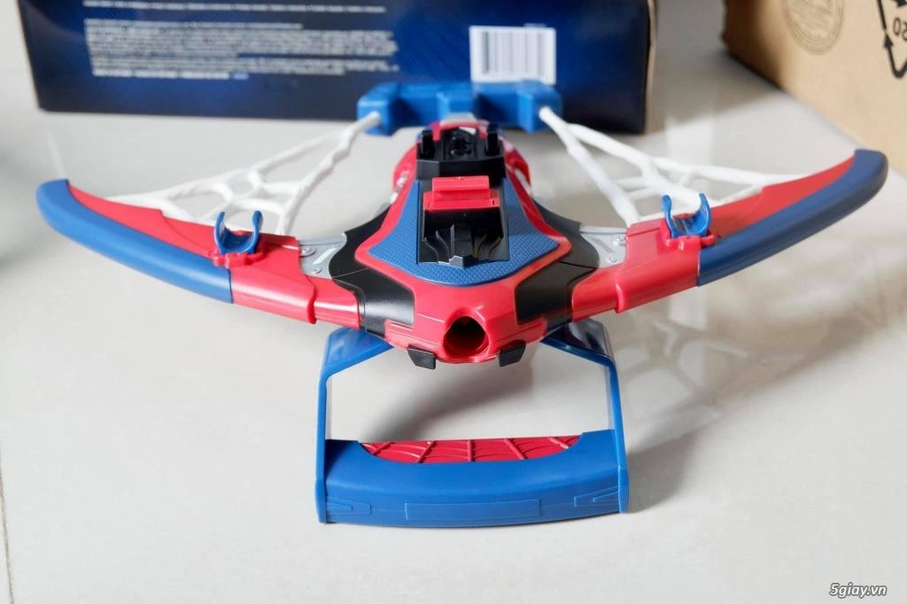 Đồ Chơi NERF Spider-Man Web Shots Spiderbolt Blaster - Hasbro Mỹ - 8
