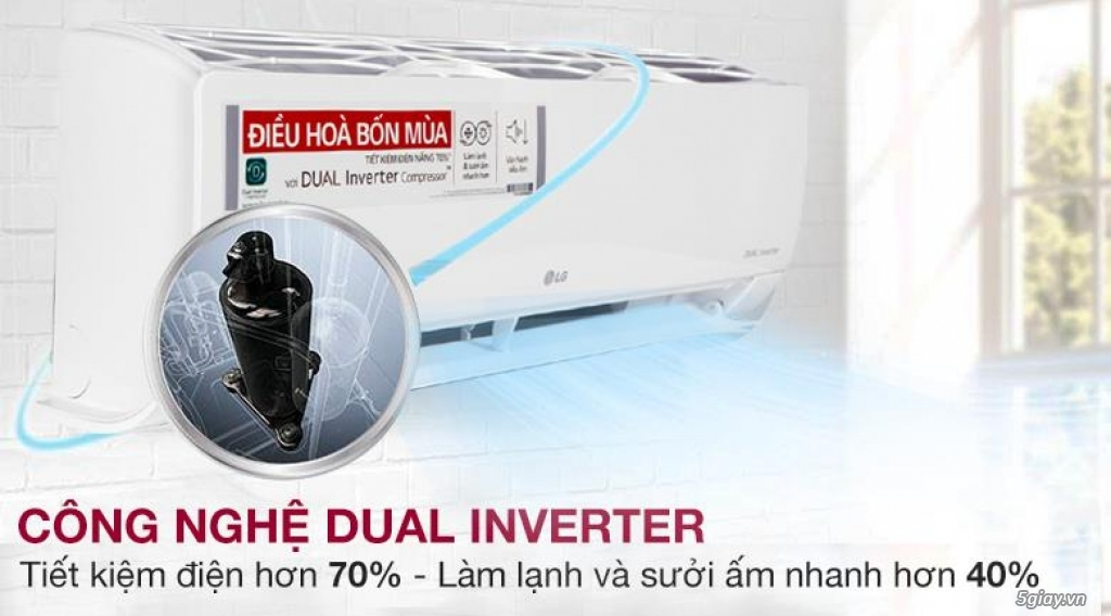 Tìm hiểu về chức năng đuổi muỗi của điều hòa máy lạnh LG