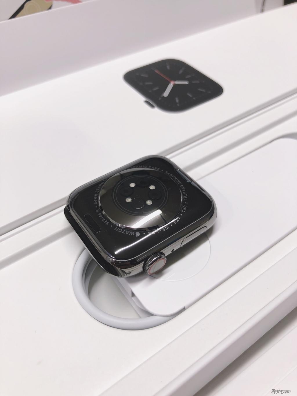 Đồng hồ Apple watch thép 6 44mm graphite hiếm active online openbox