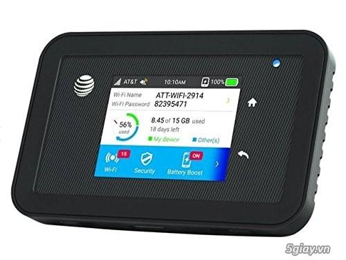 Wifi sim 4G Netgear 815s, usa tốc độ 450 Mbps, end 23h00-28/04/2021