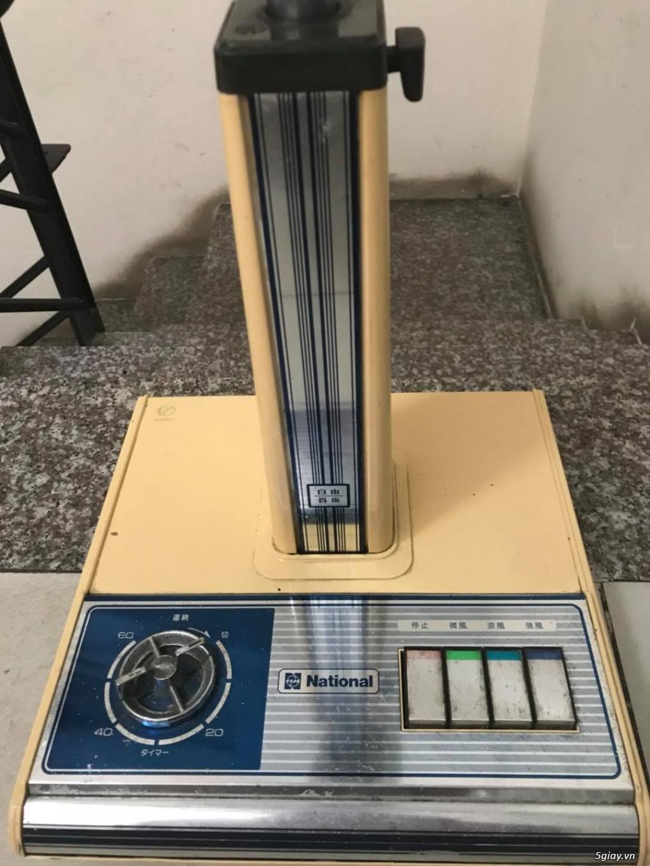 Quạt lửng National cánh 30cm, hàng Nhật, Made in Japan, MS: 280421A - 1