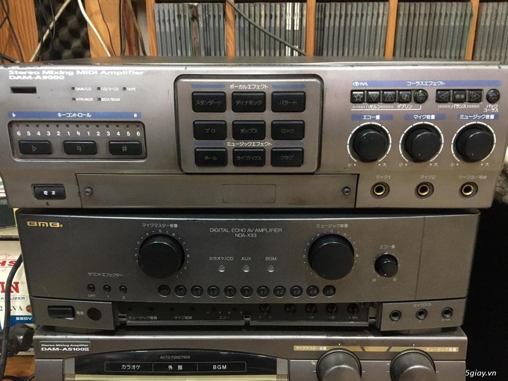 Ampli BMB - DAM - Mixer số - 16