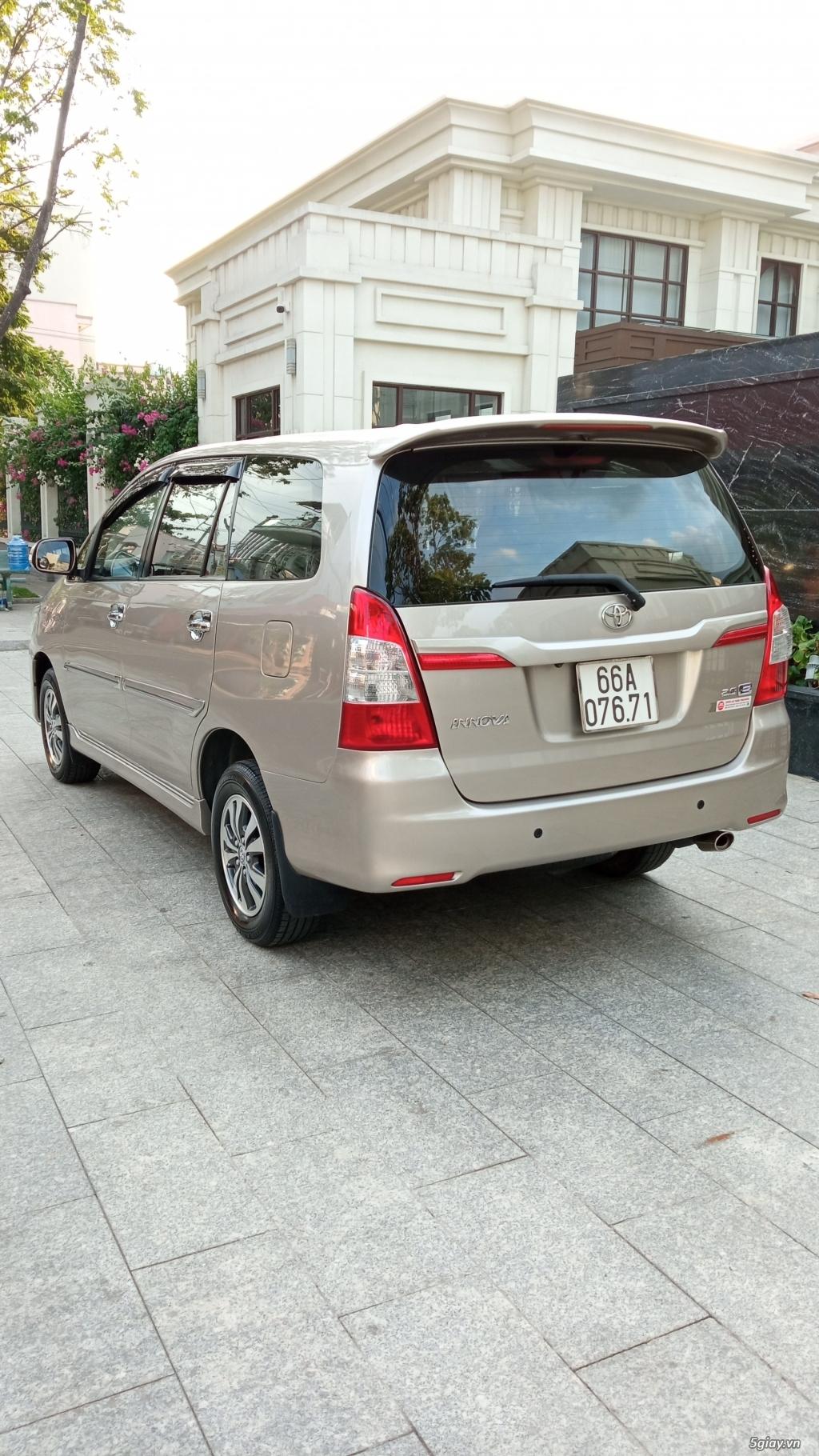 Toyota Innova 2.0E 2016 zin 99% - 3