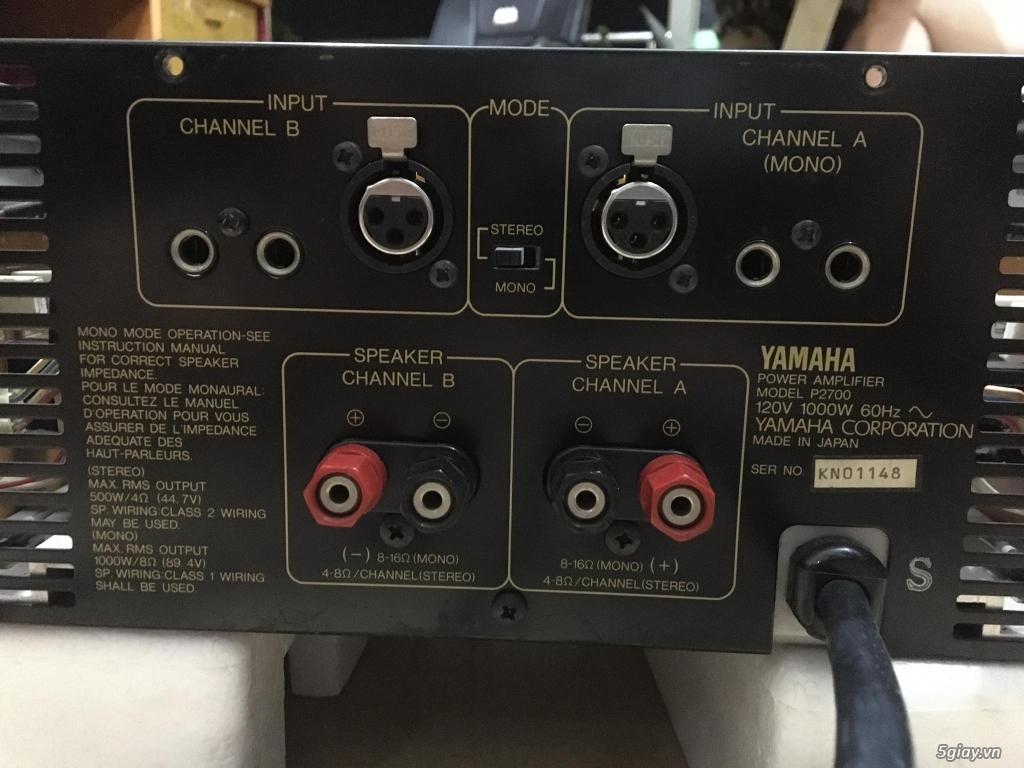 Power Yamaha 2 kênh-4 kênh-monoblock - 3