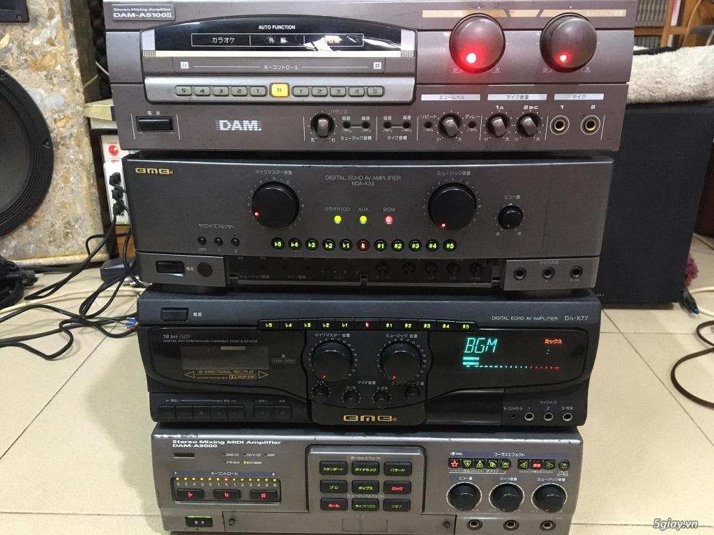 Ampli BMB - DAM - Mixer số