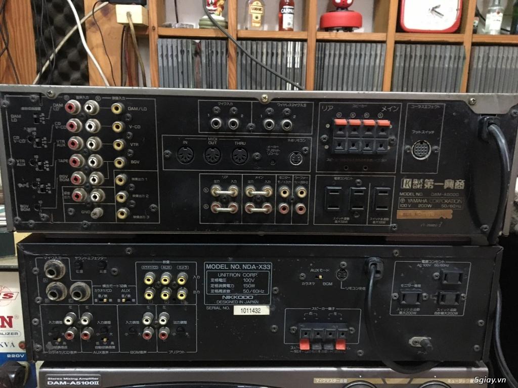 Ampli BMB - DAM - Mixer số - 17