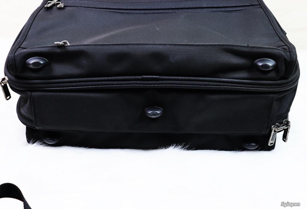Túi Xách du lịch Tumi Đen vải Canvat đen Chính hãng - 9