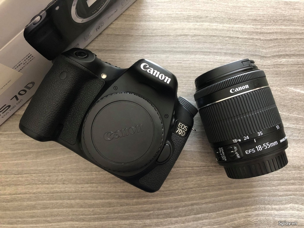 Canon 70D, seri 30 không lỗi lầm, fullbox