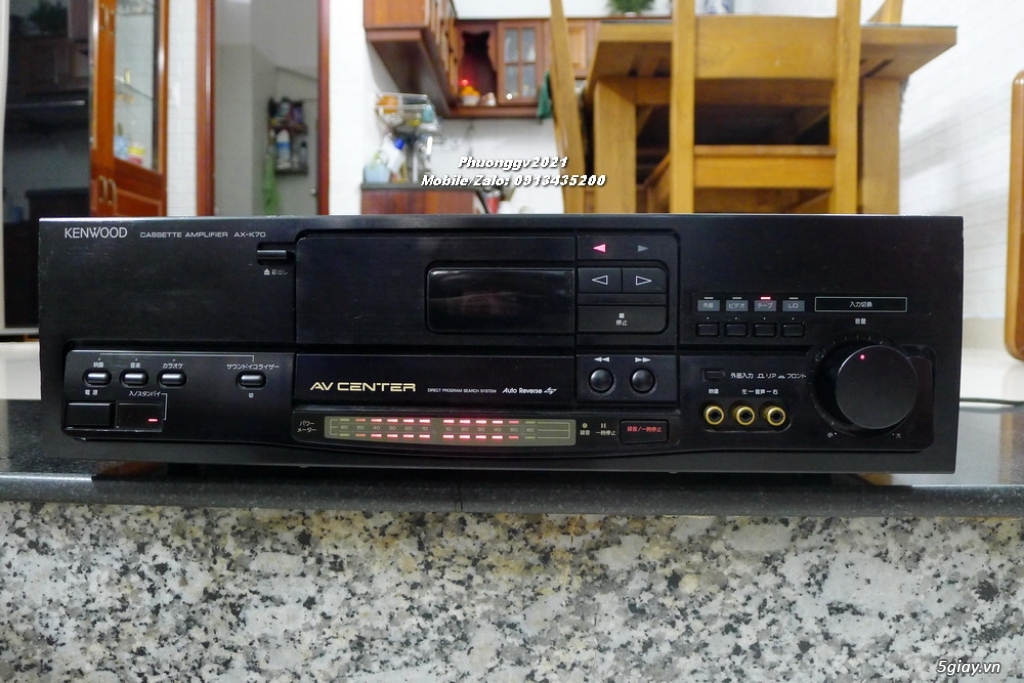 Cassette-Amplifier KENWOOD AX-K70
