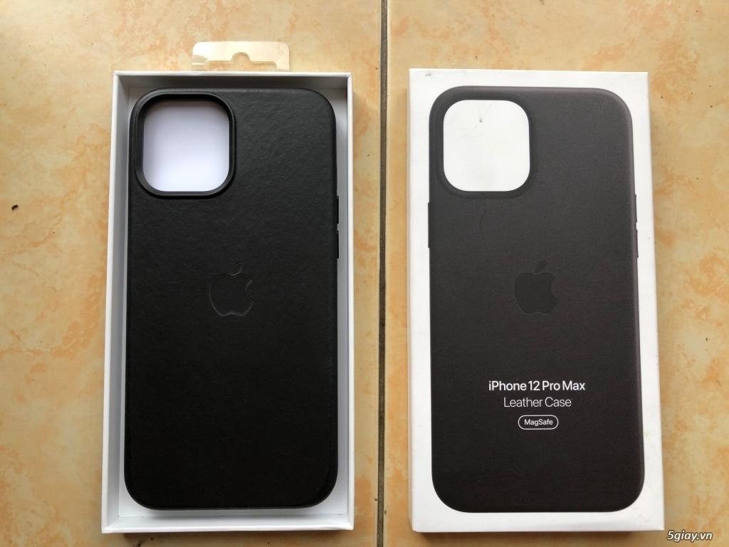 Ốp lưng Iphone 12 Pro Max Leather Case - Chính hãng Apple
