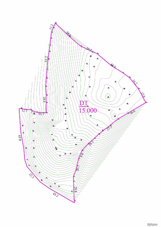 Đất sát hồ lớn - 15.000 m2 - Bảo Lộc - Lâm Đồng. Tặng thiết kế - 2