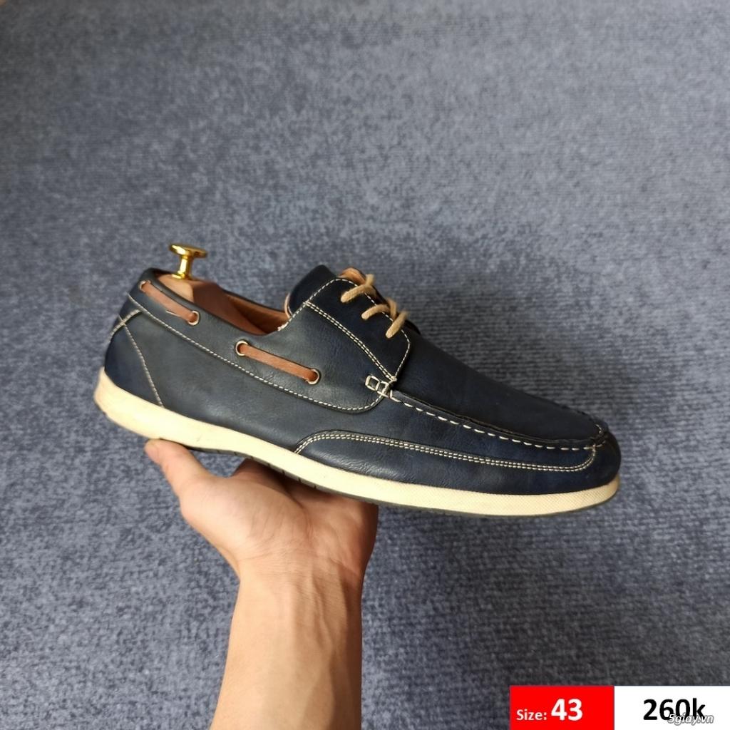Giày da mềm chính hãng 2hand-zl 0907130133