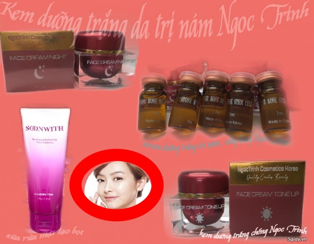 Kem Trị Nám Tàn Nhang / Serum trị nám / Kem trị nám Hàn Quốc Thuốc / Trị Nám Beauty Ngoc Trinh - 1