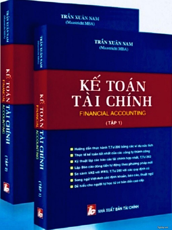 Sách Kế Toán Tài Chính Mới - Financial Accounting (Tập 1+ 2) - 1