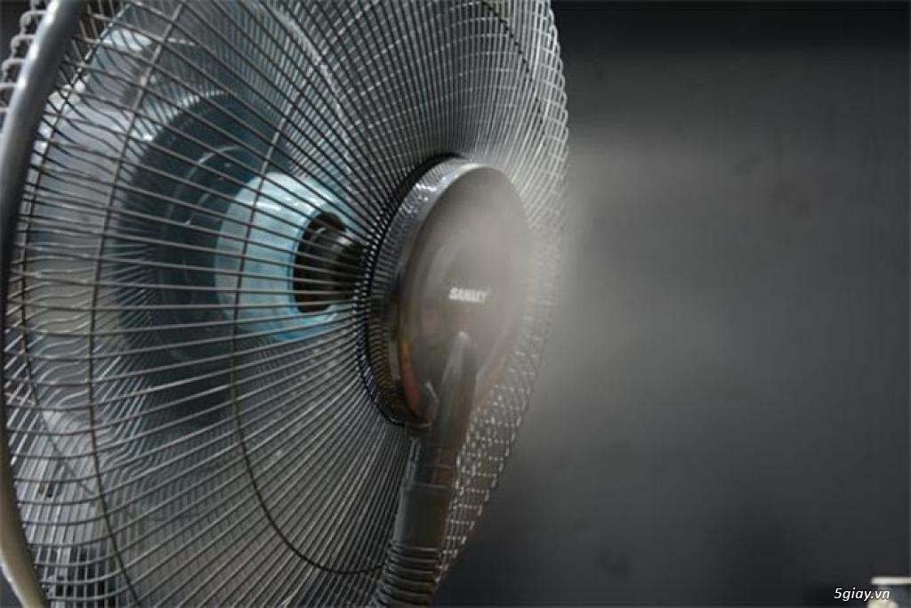 Quạt phun sương là gì, Lợi ích quạt phun sương công nghiệp