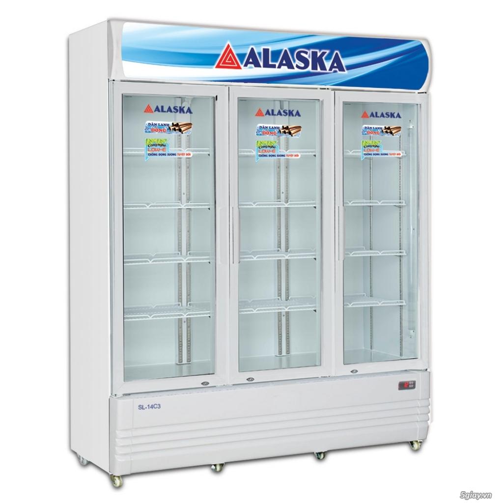 Tủ mát 3 cánh Alaska dung tích lớn 1400 Lít dàn lạnh ĐỒNG - 1