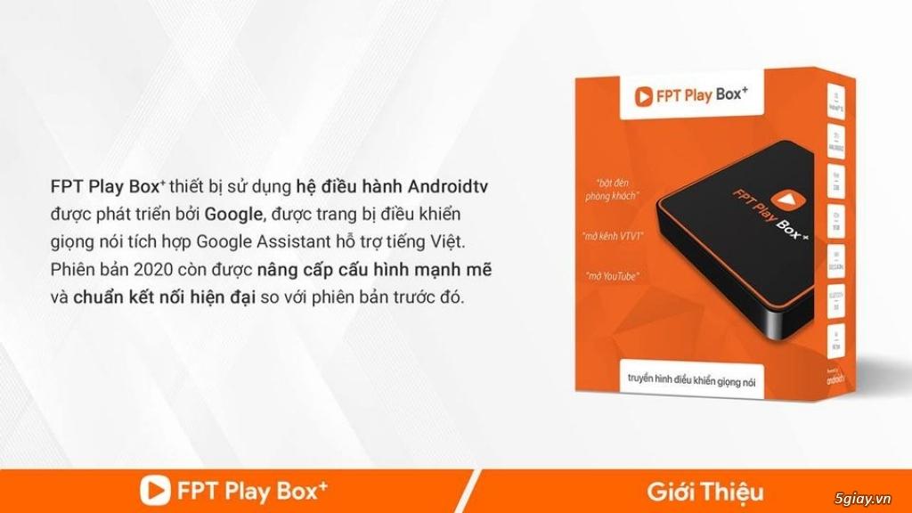 FPT Play Box+ 2020 - Điều Khiển Qua Giọng Nói